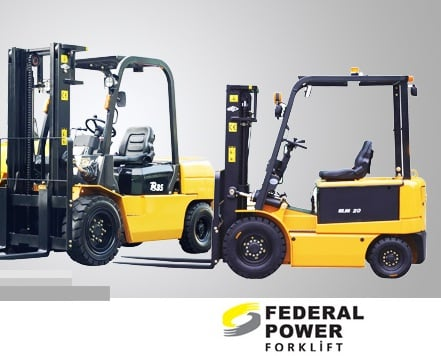 Federal Power Forklift